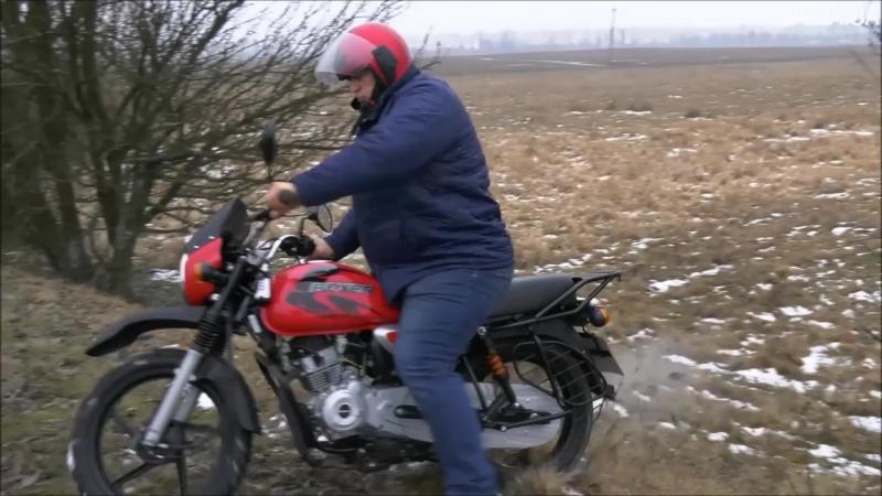 Тест-драйв індійського мотоцикла Bajaj Boxer 150cc в екстремальних умовах. short