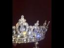 Корона и серьги Swarovski