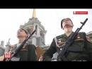 Парад Победы 2018 в Екатеринбурге. 9 мая 2018 года.