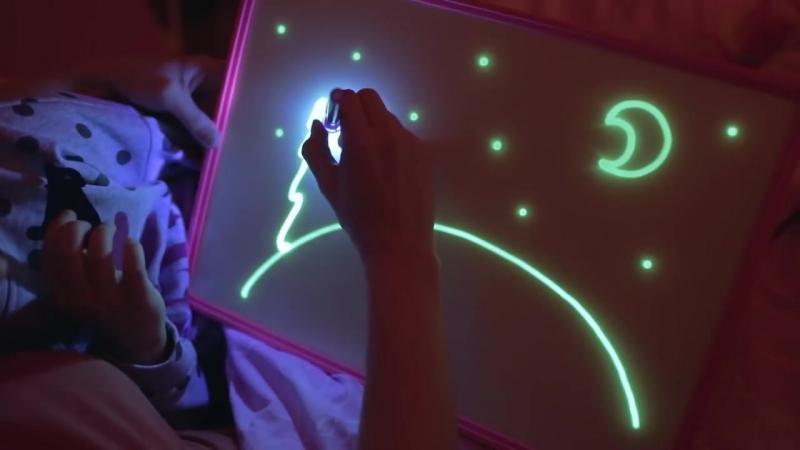 Рисуй светом Набор для семейного творчества