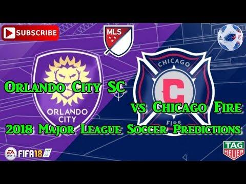 Orlando City SC vs Chicago Fire | 2018 Major League Soccer | Predictions FIFA 18