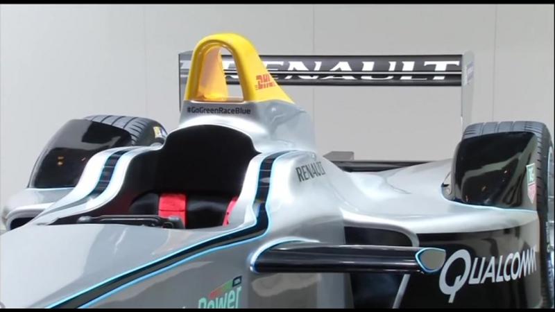 Future of racing Formula E unveils fully-electric car - the Spark-Renault SRT 01E