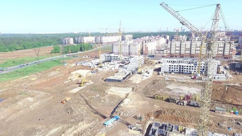 ЖК Государев дом. Строительство Южного квартала
