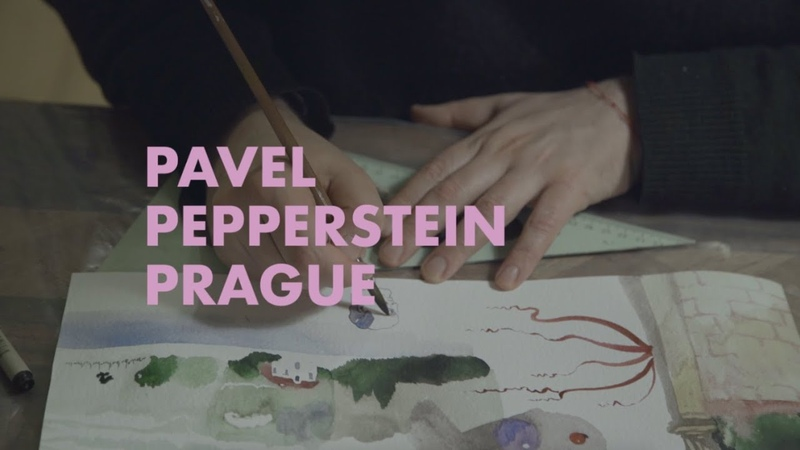 Louis Vuitton Travel Book Prague by Pavel Pepperstein