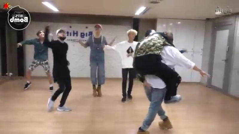 BTS Silver Spoon (Baepsae) mirrored Dance Practice