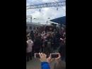 Поезд Победа! Прибытие в Новороссийск.