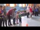 Спортивно-развлекательная программа - Наша здоровая и дружная семья Семейный конкурс Весёлые старты - 2018 год