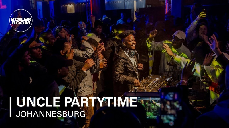 Uncle Partytime Boiler Room x Ballantine's True Music South Africa
