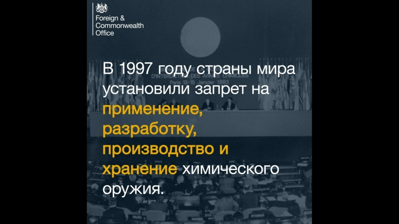 Special Conference of the Chemical Weapons Convention