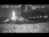 Вандалы, которые зацементировали Вечный огонь, попали на видео