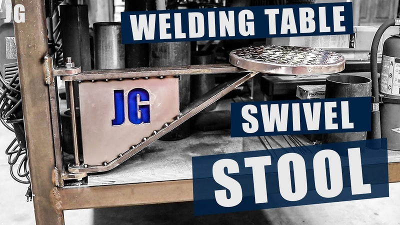 Welding Table Swivel Stool | JIMBO'S GARAGE