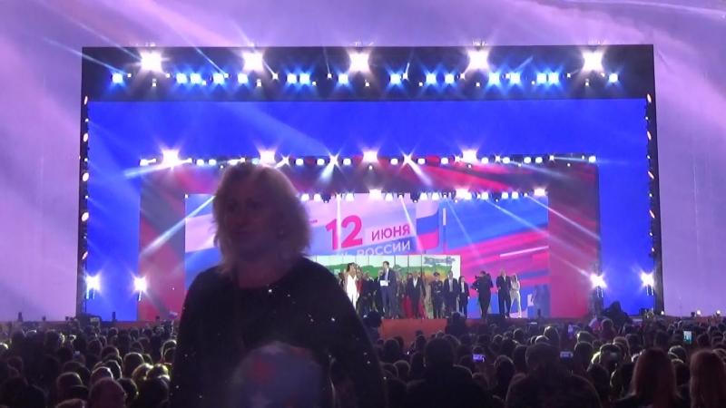 Люди(МыРоссия, Красная Площадь, 12 июня 2018,День России)