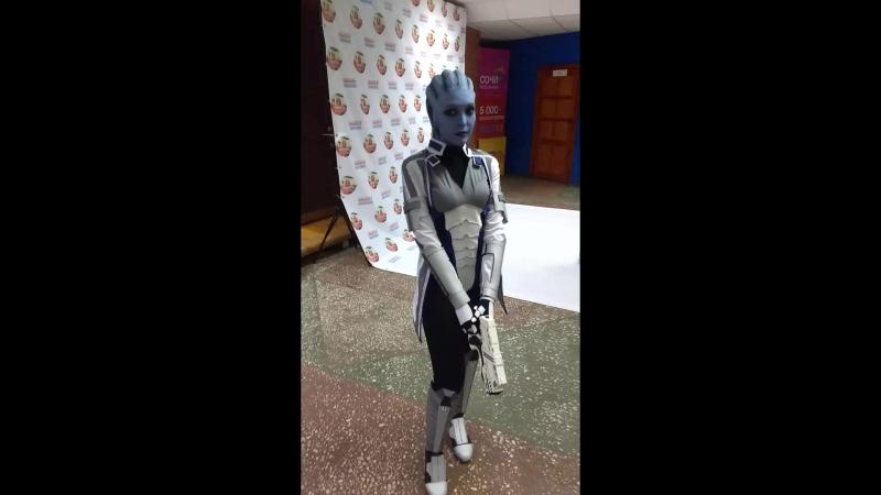 Mass Effect Элькон 2018 Лиара 360