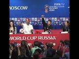 Шоу Уилла Смита на пресс-конференции в Москве