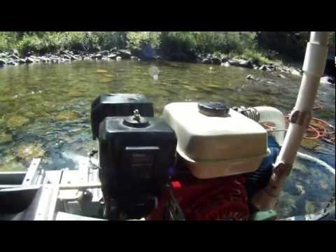 Gold prospecting fine gold dredging in Oregon
