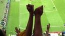 ШИКАРНЫЙ ГОЛ Тони Крооса в ворота Швеции. Вид с трибуны. Tony Kroos' goal to Sweden.