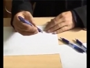 Ручки на выборах в изберательных кабинках!