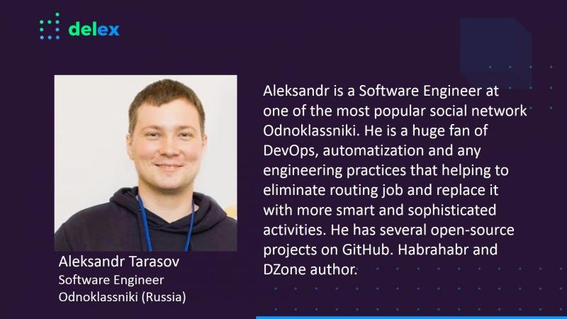 DelEx Conference 2018_Александр Тарасов