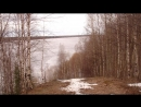 К Печоре по тропинке на старый пляж Вуктыл 25 05 18 г