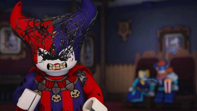 Джестро- Королевский шут - NEXO Knights - Cartoon Network