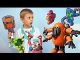 Игрушки Микробы ФУНГУС АМУНГУС напали на Миньона - БИО БАСТЕР спешит на помощь Доктору Данику