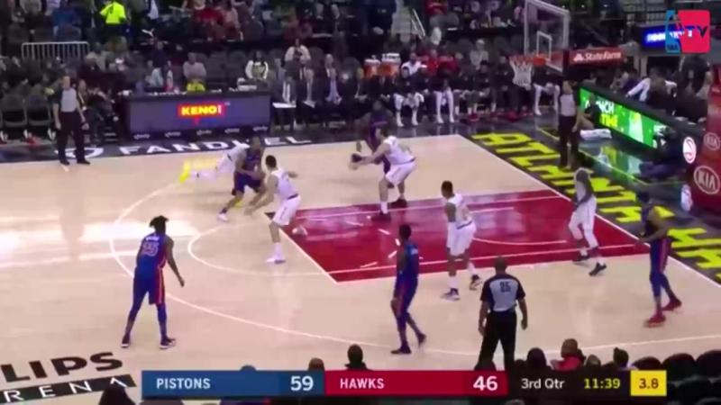 Атланта Хокс - Детройт Пистонс 91:105 (31:30, 15:29, 18:26, 27:20) . Обзор матча (Баскетбол. НБА) 15 декабря