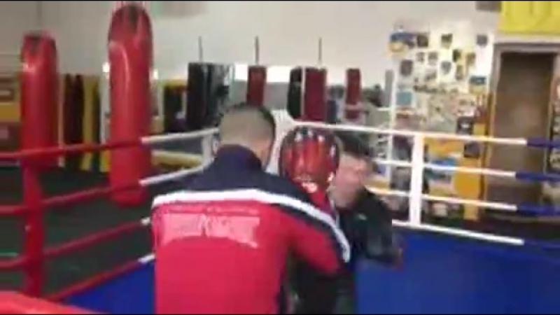 Тренировка Андрея Лежнева перед турниром M-1 Видео, MMA XSPORT.ua