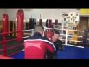 Тренировка Андрея Лежнева перед турниром M-1 Видео, MMA XSPORT