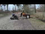 Мотоблок на гусеницах Крутец / motux.ru