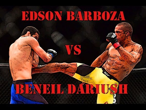 Edson Barboza VS Beneil Dariush | Эдсон Барбоза VS Бенил Дариуш | FIGHT HIGHTLIGHTS | HD edson barboza vs beneil dariush | lcjy