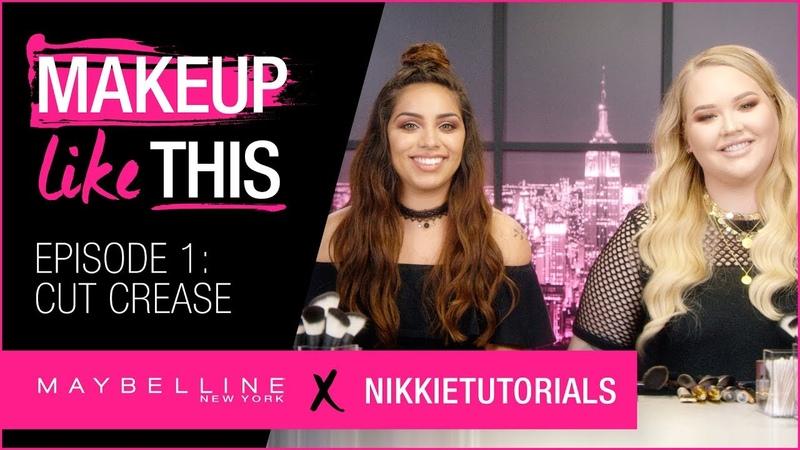 Make Cut Crease Happen Episode 1 | Maybelline New York NikkieTutorials