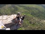 Михаил Shaan-Kaya Rope Jumping with Skyline X-team in Crimea