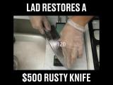 Как проходит процесс профессиональной реставрации ножа