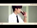 CNBLUE SPECIAL FANMEETING BOICE CAFE KMH CAFE D-5 - - Todays Barista KANG MIN HYUK - - CNB