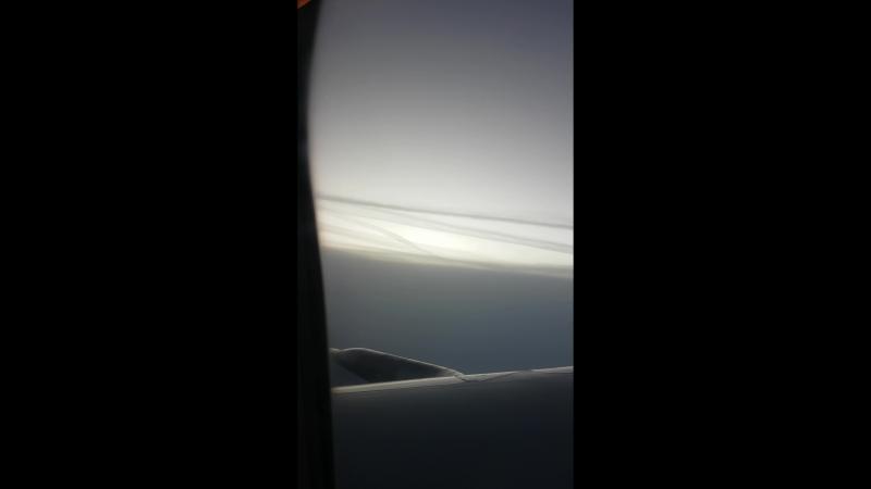 Flug von Paris nach Berlin Oktober 2017