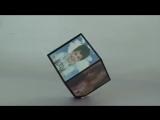 Вращающаяся фоторамка «Куб»