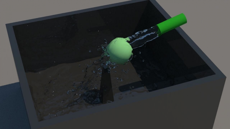 Water Simulation Test