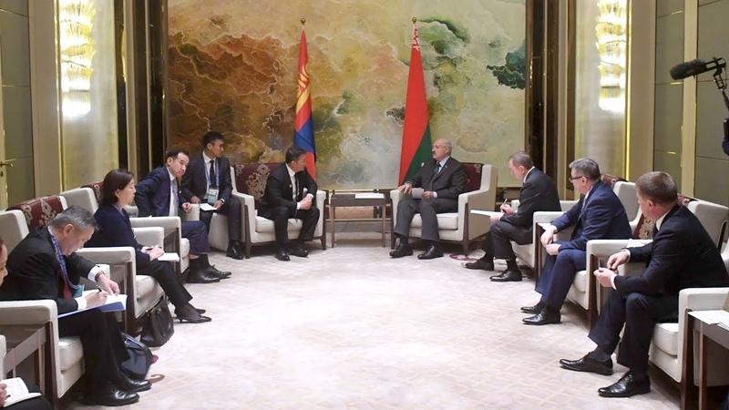 Лукашенко подтверждает готовность Беларуси создавать в Монголии высокопроизводительные предприятия