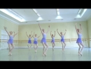 Vaganova Ballet Academy. Exercises on pointe. Classical Dance Exam. 5th class. M
