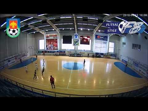 Чемпионат Республики Коми по мини-футболу 2018 г. 1/4 финала. Печора - Корткеросский район