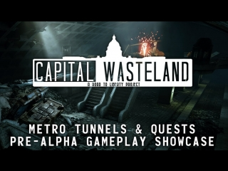 Capital Wasteland | Fallout 3 REMAKE | Metro Quest Pre-Alpha Gameplay