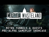 Capital Wasteland  Fallout 3 REMAKE  Metro  Quest Pre-Alpha Gameplay