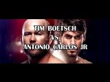 TIM BOETSCH vs ANTONIO CARLOS JR