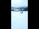 отдых в черной. катание на тюбингах и лыжах