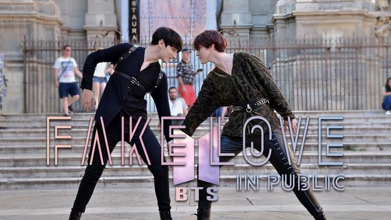 [KPOP IN PUBLIC CHALLENGE SPAIN] FAKE LOVE BTS Dance Cover by KIH
