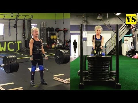 68 Year old Stronger Powerlifting Women - Mary Duffy | Yurich SPORT