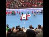 Матч отборочного этапа чемпионата мира 2019 года по гандболу, сборная России - сборная Финляндии.
