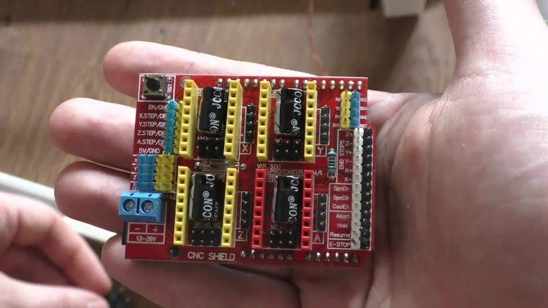 Мой первый большой ЧПУ станок часть 4 . Подключение концевых выключателей