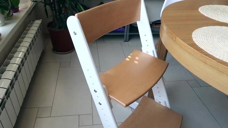Растущий стул Конек Горбунек. Рабочее место для ребенка. Отзыв и Обзор
