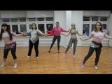 Начинающая группа восточный танец. Руководитель: Жанна Иванова